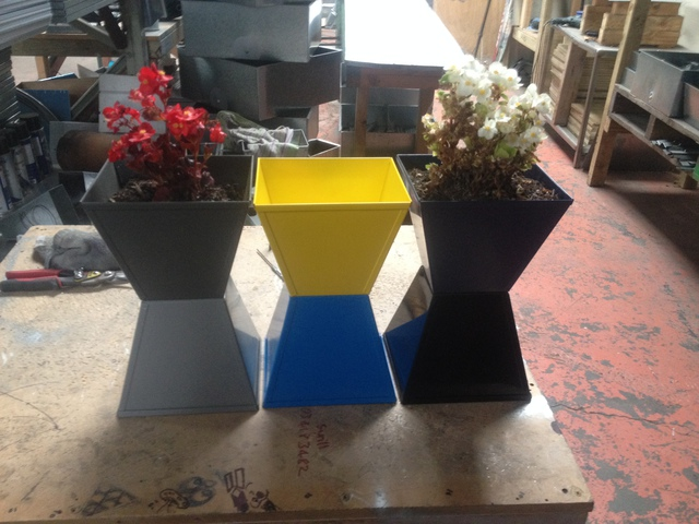 Small Planters With Style