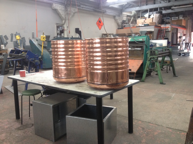 Old Copper Water Cylinder - Restoration - Brass & Copper Items ...